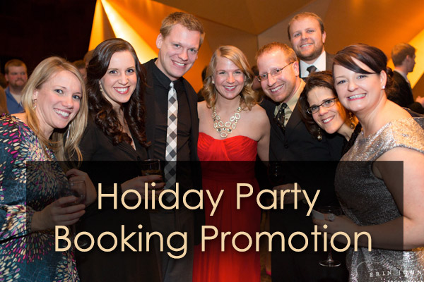 Holiday Party Booking Promotion