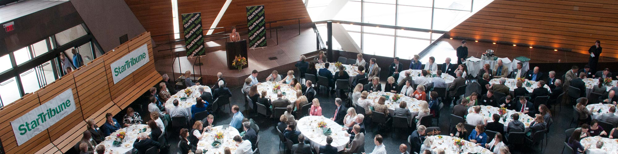 conference held at McNamara Alumni Center