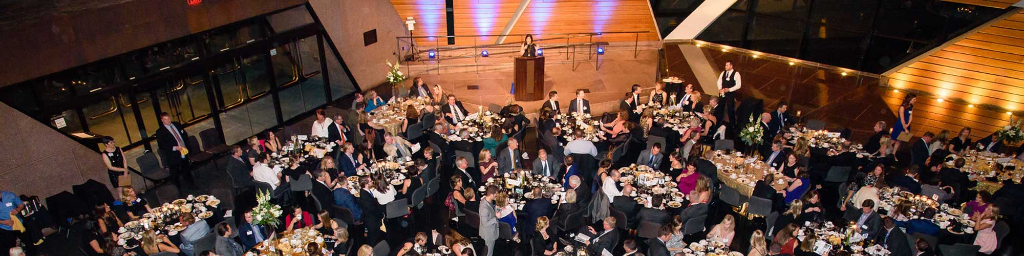 event held at McNamara Alumni Center