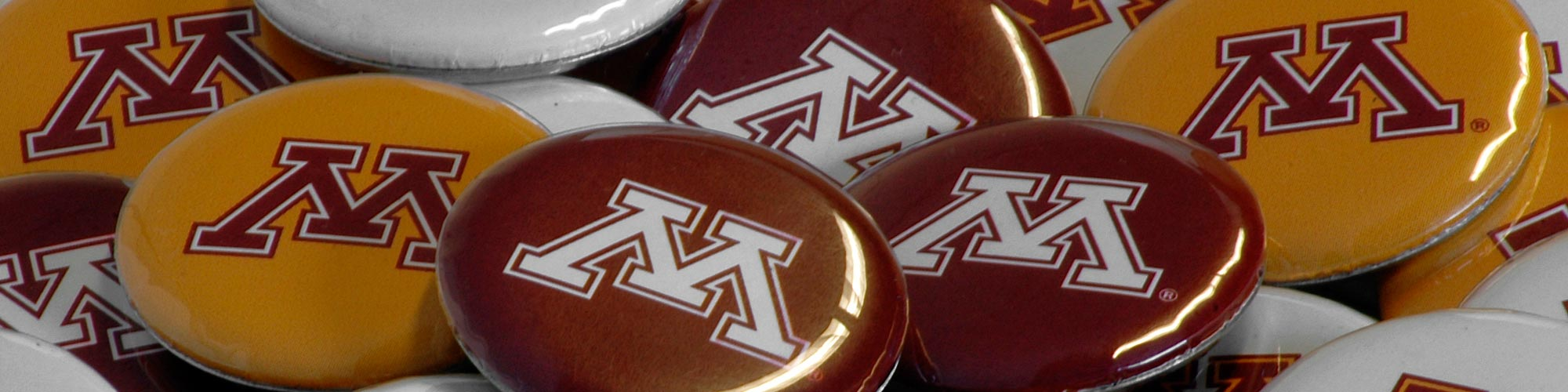 University of Minnesota buttons